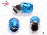 Assy do filtro de ar da motocicleta com vermelho e azul de prata