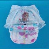 赤ん坊の乾燥した使い捨て可能なPantyのおむつの女の赤ちゃん
