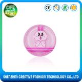 100% pure caricature imprimé tendance éponge maquillage cosmétiques à base de silicone