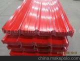 Feuille galvanisée de toiture de profil de cadre enduite par couleur