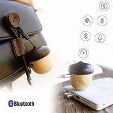 Mini altavoz portátil Bluetooth inalámbrico única forma de tuerca de tamaño bolsillo altavoz inalámbrico con hilo de voz de sonido