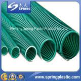 Plastique flexible spiralé de PVC boyau d'aspiration de 2 pouces