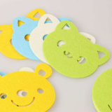 Factory Wholesale Customized 100% Felt Coaster for Cups & Decorations