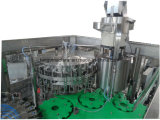 Автоматическая стеклянную бутылку металлические винты с соком напитков ЖИДКОСТИ ЗАПРАВКА механизма с вибрация крышку элеватора соломы