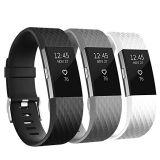 Band van de Riem van het Horloge van het silicone de Rubber voor Fitbit Last 2