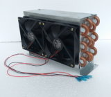 Purswave Fn4X6X240 Mini испаритель конденсатор с 2ПК12V24V220V120*120мм вентилятор Fin пространства медной трубки теплообменника 1200W потенциала