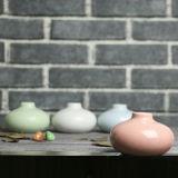 昇進の小型陶磁器のつぼ、ホーム装飾、結婚のセンターピース表D&eacuteのための陶磁器の花つぼ; イングリッシュホーン及びレストランのさまざまな形