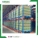 Racking ajustável resistente da pálete do armazenamento do armazém