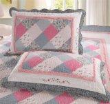 Die meiste populäre reine Baumwollausgangsbettwäsche stellt Drucken-Plaid-Steppdecken ein