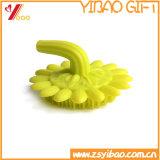 Escova macia Bush de lavagem facial das flores do corpo da limpeza do silicone (XY-MK-127)