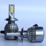 LEDのヘッドライトC6 H7の穂軸LEDのヘッドライト