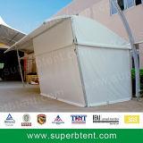 بيضاء [بفك] حائط جانبيّ & [بفك] سقف نصفيّة قبة خيمة