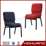 Cadeira de igreja em aço de estilo europeu (YC-G52)