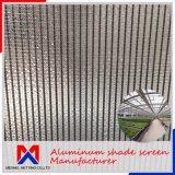 Cortina de alumínio de 1,2 mm de espessura da tela de sombreamento do clima para as emissões
