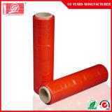 Película colorida forte do envoltório da película de estiramento da mão da Anti-Pressão 12-35mic LLDPE