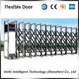 Автоматическая внешняя быстро завальцовка сползая Retractable Extendable дверь складчатости