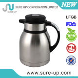 Brocca inossidabile del caffè di vuoto del tasto del Thermos centrale della protezione (JSCF)