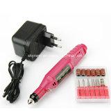 펜 모양 전기 못 매니큐어 닦는 기계 Drill+ 6 비트