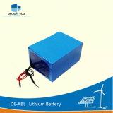 IonenBatterij van het Lithium van de Macht van DE-Abl 20ah 12V gelijkstroom van de verrukking de Navulbare