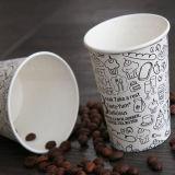 Venta caliente 6 oz de papel desechables vasos de bebidas calientes