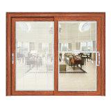 Decorativo elegante Villa de diseño de la parrilla de puerta corrediza de vidrio