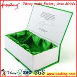 Perfume de cartón Jewellry ver el papel de regalo cosmética Embalaje