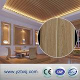 Matériau blanc pur du panneau WPC de mur de qualité