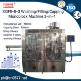 Lavage/remplissage/monobloc de plafonnement de la machine pour savon liquide (XGF8-8-3)