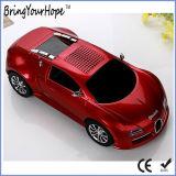 Spreker Bluetooth van uitstekende kwaliteit van de Vorm van de Auto Bugatti de Draagbare (xh-ps-691)