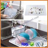 Plaques alimentantes de silicones de bébé de nourriture de la meilleure qualité d'enfant en bas âge avec le couvercle