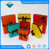 Flat Pack personalizado cierre magnético plegable de cartón de Papel Caja de regalo