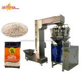 Máquina de empacotamento inteira do cereal de pequeno almoço do arroz do petisco automático dos miúdos