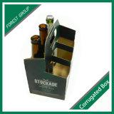 Boîte estampée par coutume pliée à bière de carton