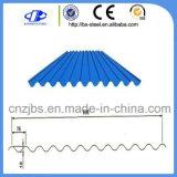 屋根ふきの鋼鉄金属は電流を通された波形シートをPrepainted