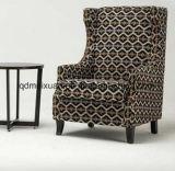 Sofà americano classico della caffetteria dell'hotel del sofà del sofà della singola persona della presidenza classica della tigre (M-X3161)