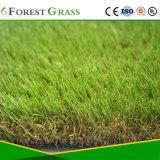 Grama artificial de alta qualidade para o quintal e jardim erva (LS)