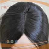 Peluca natural de las mujeres del color del pelo de la Virgen (PPG-l-01776)