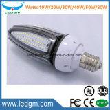 작은 LED 옥수수 전구 IP65 옥외 정원 야드 점화 3 년 보장 Dlc SAA 세륨 RoHS FCC 10W 20W