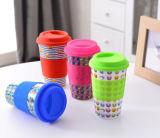 Gesunde Bambusfaser-materielle Kaffeetasse (YK-BC4070)