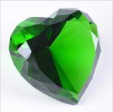 심혼 모양 사랑 & 친족 관계를 위한 수정같은 다이아몬드 홈 훈장 부속품 선물