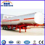 3 판매를 위한 차축 42000L 석유 탱크 트레일러 42000L-55000L 연료 탱크 트레일러