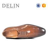 Adaptado de la moda de cuero auténtico caballero Zapatos de Vestir