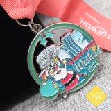 Карнавал честь футбольного марафона мягкой эмали литой детали штампов спортивные медали