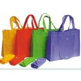 Saco de compras de moda reciclados não tecidos mala