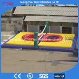 Corte di pallavolo gonfiabile gonfiabile di Boassball dei giochi di sport della spiaggia