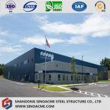 Magazzino prefabbricato della fabbrica diplomato qualità della struttura d'acciaio di 9001:2008 di iso