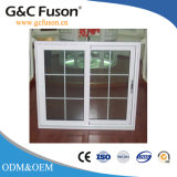 Windows en verre r3fléchissant en aluminium avec le modèle de gril avec le bâti