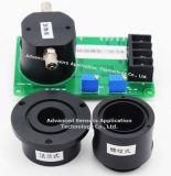 L'hydrogène sulfuré H2S Capteur du détecteur de gaz 200 ppm de contrôle environnemental des gaz toxiques Miniature électrochimique