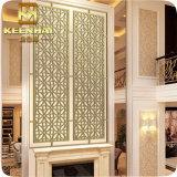 Panneaux de mur perforés décoratifs en métal pour le restaurant d'hôtel