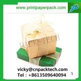 Gable aniversario de boda Favor caramelos cajas regalo Caja de papel China sacar Cake Box